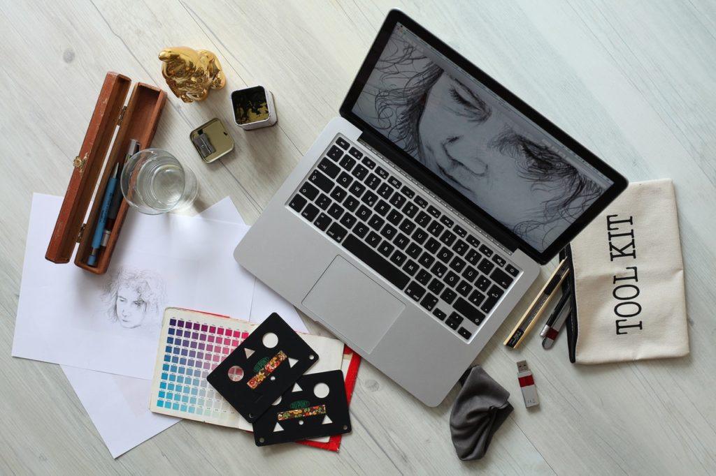 graphic designer laptop